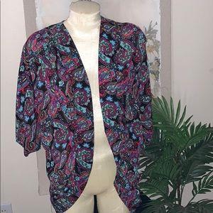 🌺NWOT- Miami 3/4 sleeve Short Kimono
